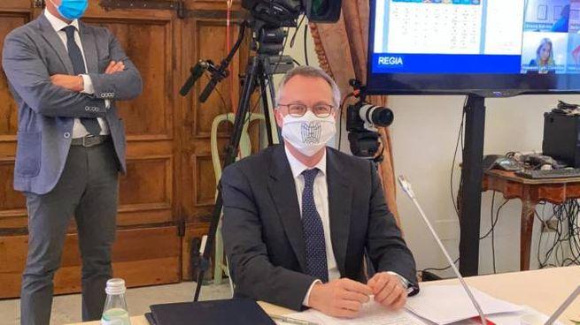 Carlo Bonomi, presidente di Confindustria (Ansa)