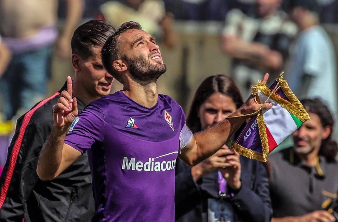 German Pezzella, il capitano della Fiorentina. Anche per lui il finale di campionato sarà decisivo per stabilire quale sarà il suo futuro