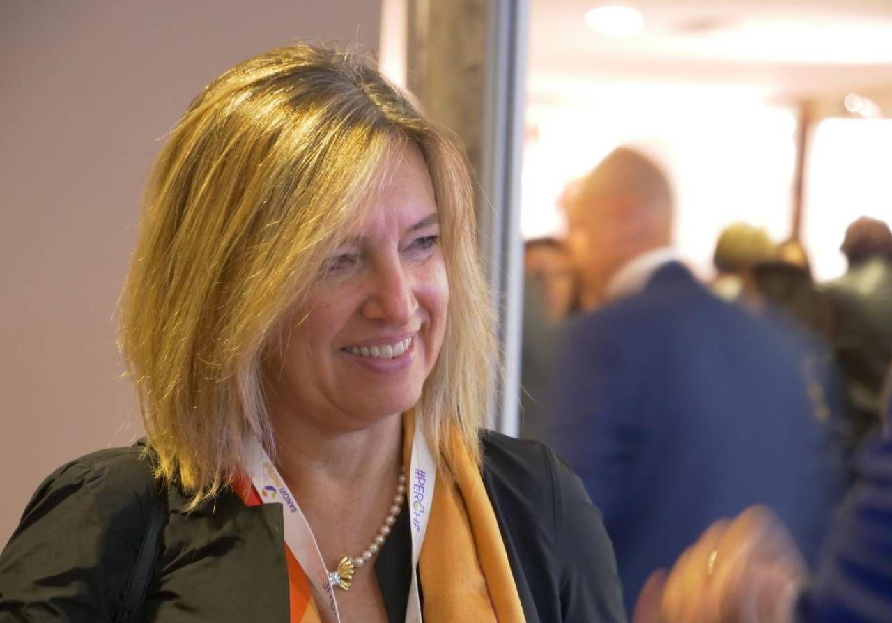 Silvia Grandi, ferrarese, è entrata in Copma nel 1991 come responsabile ufficio gare