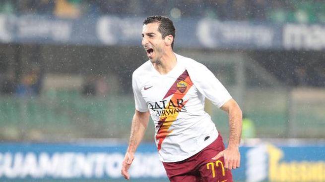 Roma, stop per Mkhitaryan: è in dubbio per la Samp - Sport - Calcio - quotidiano.net