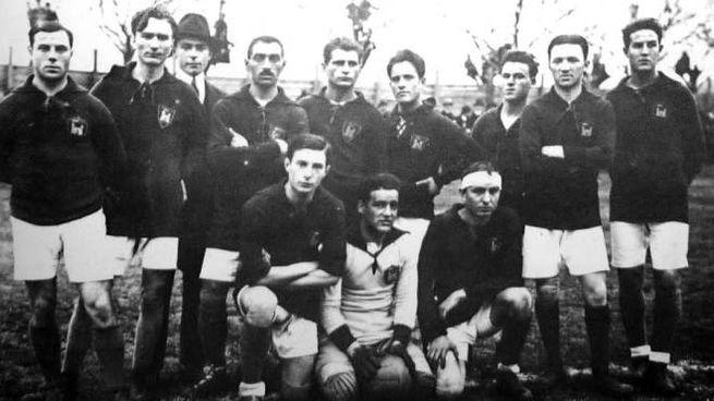 Un'immagine del Livorno 1919-20