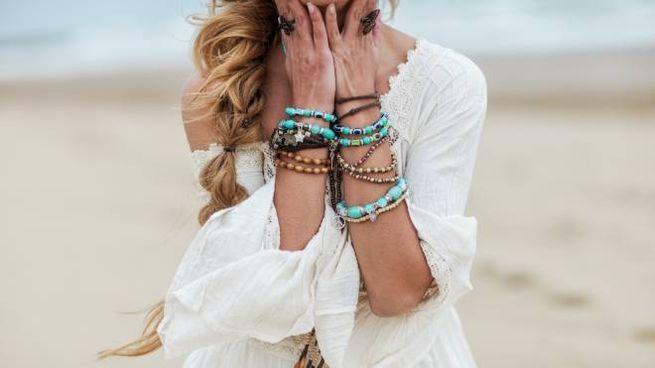 Accessori di moda per la spiaggia