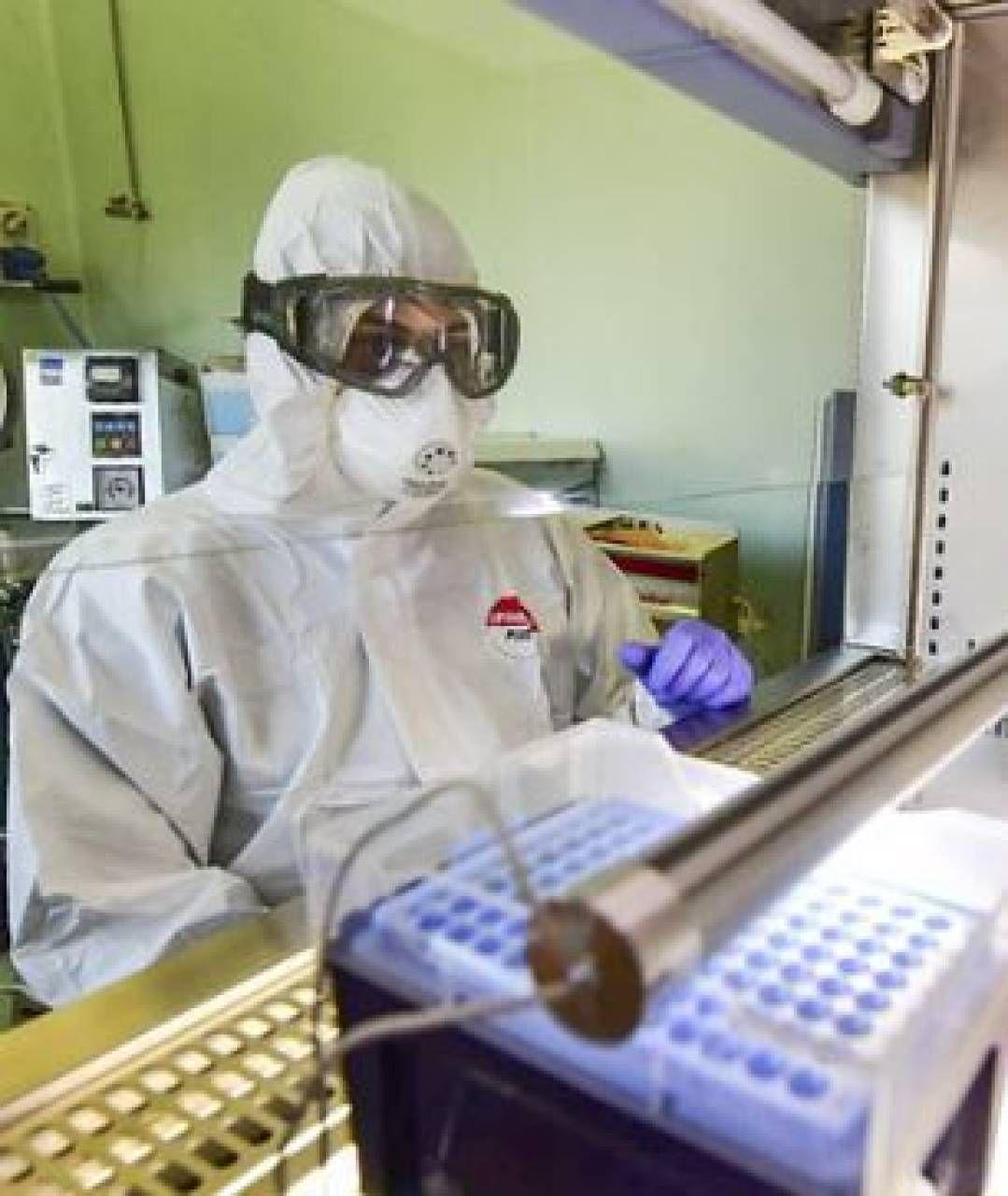 Il Laboratorio Bls 3 (livello 3 di biosicurezza) del Dipartimento del Policlinico militare del Celio