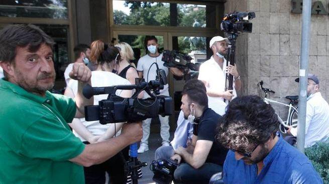 Il videomaker dal pm