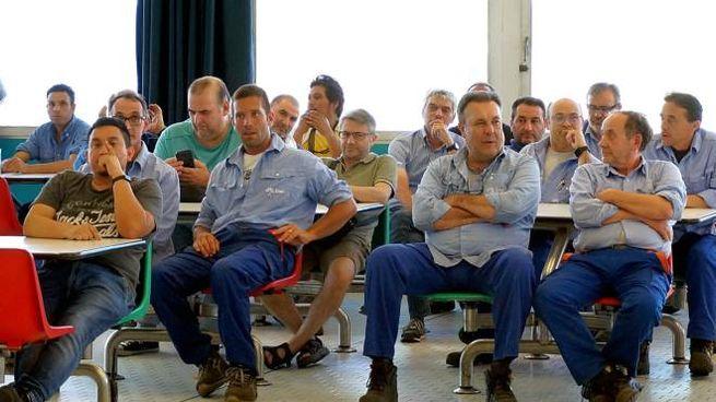 Dipendenti Enel raccolti in assemblea per il futuro di Vallegrande (Archivio)