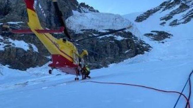 Le ricerche sul ghiacciaio del Gran Paradiso