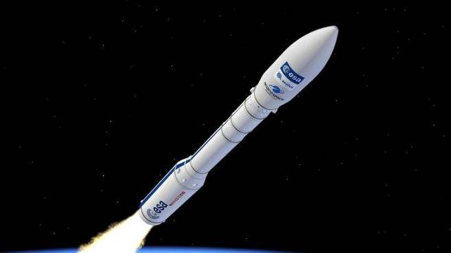 Il razzo Vega in un rendering dell'Esa (Ansa)