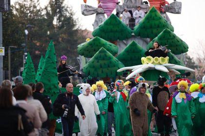 La passata edizione del Carnevale di Fano