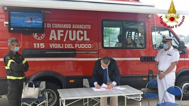 A Lerici firmato protocollo di intesa per l'uso di moto d'acqua per soccorrere la persone