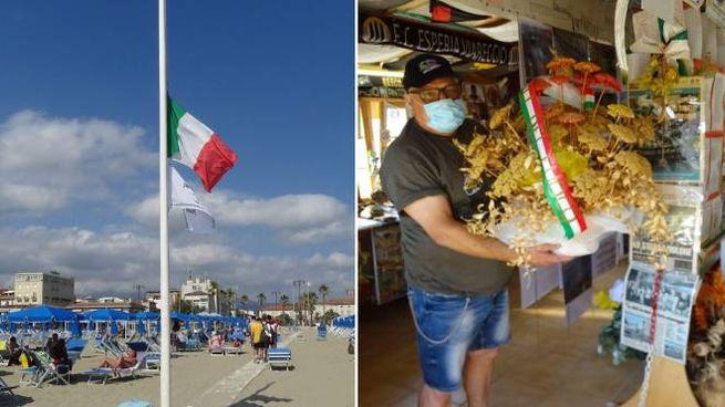 Il dolore e il ricordo a Viareggio per la strage (Umicini)