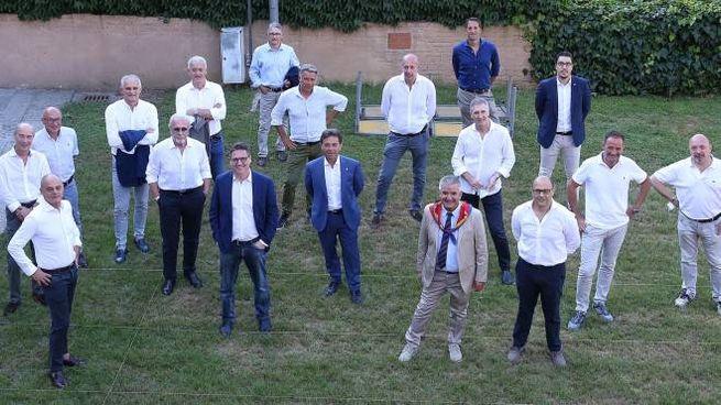 I capitani nei giardini del Bruco: prima riunione dopo il lock down