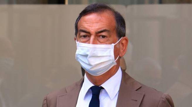 Il sindaco di Milano Giuseppe Sala al Palazzo delle Stelline