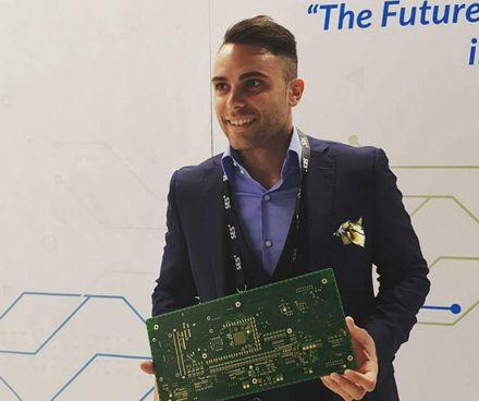 Alberto Zanella, 27 anni, socio e responsabile marketing e commerciale della Esseti