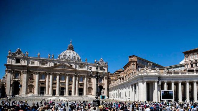 La Basilica di San Pietro (Ansa)