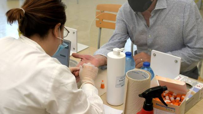 L'esecuzione di un test sierologico