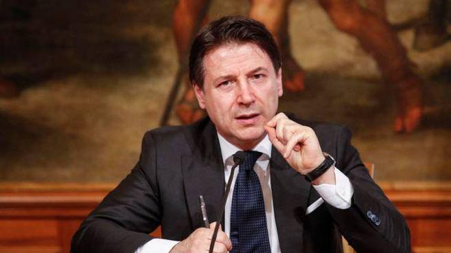Il premier Giuseppe Conte (UAnsa)