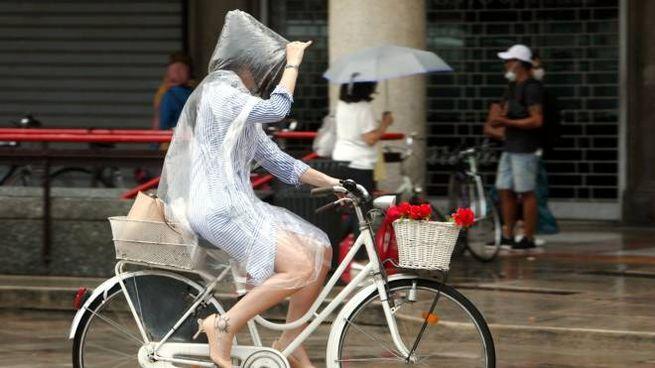 Previsioni meteo, in arrivo il maltempo (Imagoeconomica)