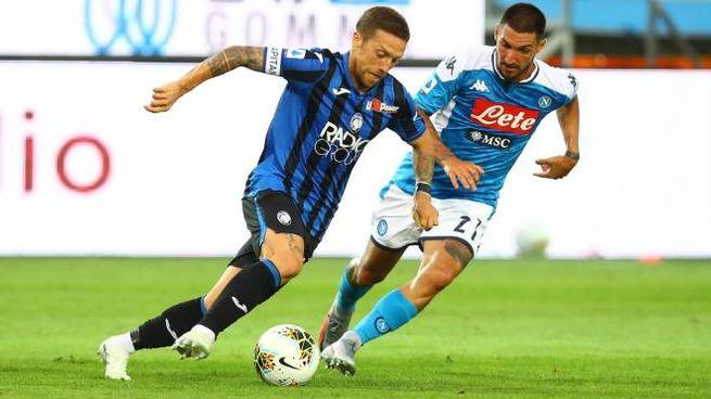 Atalanta-Napoli 2-0, Gomez salta Politano (Liverani)