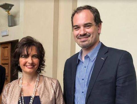 Nella foto, Natalia Maramotti e Pierangelo Romersi