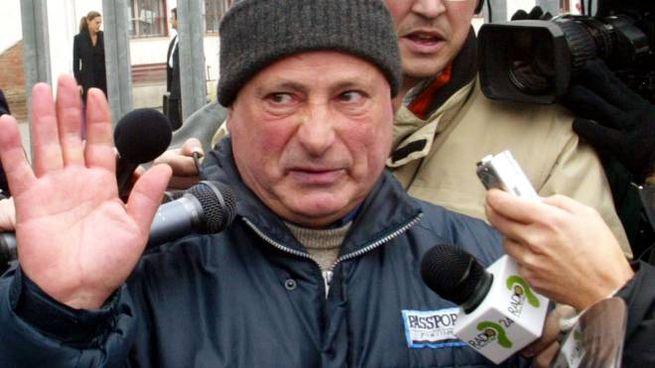 Graziano Mesina esce dal carcere  dopo aver ottenuto la grazia da Ciampi