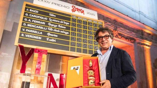Sandro Veronesi vince il Premio Strega 2020 (Ansa)