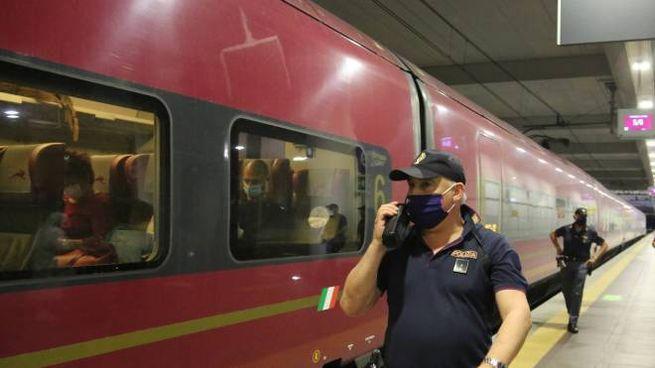 Polizia ferroviaria impegnata fino a tarda sera per risalire agli aggressori