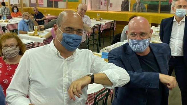 Zingaretti e Bonaccini alla Festa dell'Unità di Modena (FotoFiocchi)