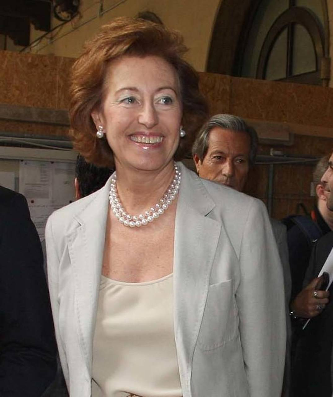 Il presidente di Ubi Letizia Moratti ritiene che la sua banca potrebbe diventare il terzo polo italiano
