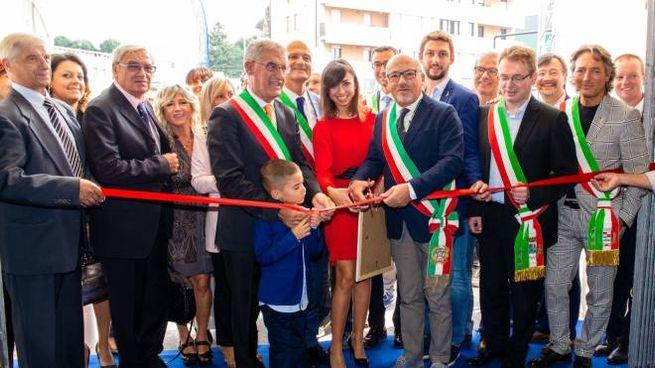 L'inaugurazione dell'ultima edizione che aveva visto la partecipazione di 120 espositori