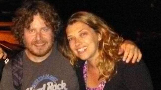 Mauro Pamiro, 44 anni, con la moglie Debora Stella, 39 anni