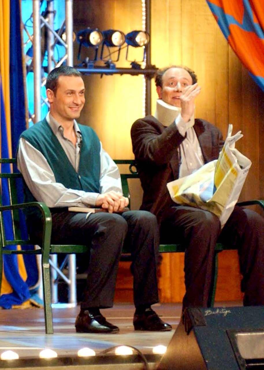 Ale e Franz, tra i firmatari dell'appello degli artisti (Spf)