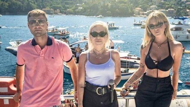 Il Pagante nella baia di Rapallo
