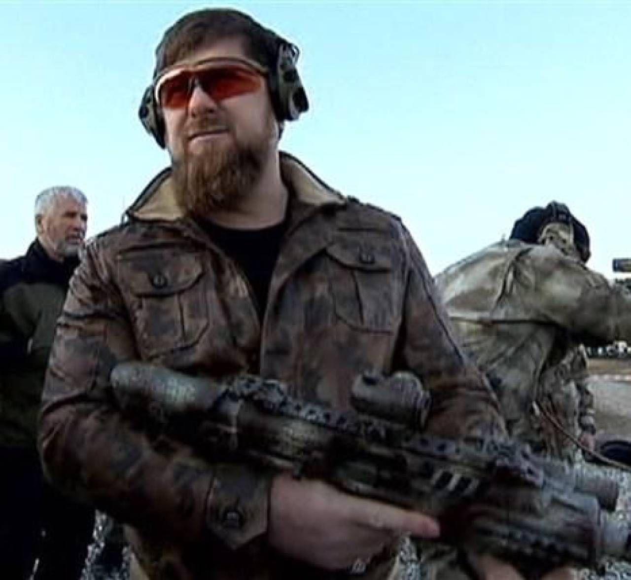 Ramzan Kadyrov, 43 anni, presidente della Repubblica Cecena dal 2007. È vicino a Putin