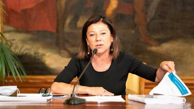La ministra delle Infrastrutture Paola De Micheli