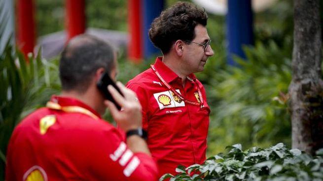 Mattia Binotto, team principal Ferrari (Ansa)