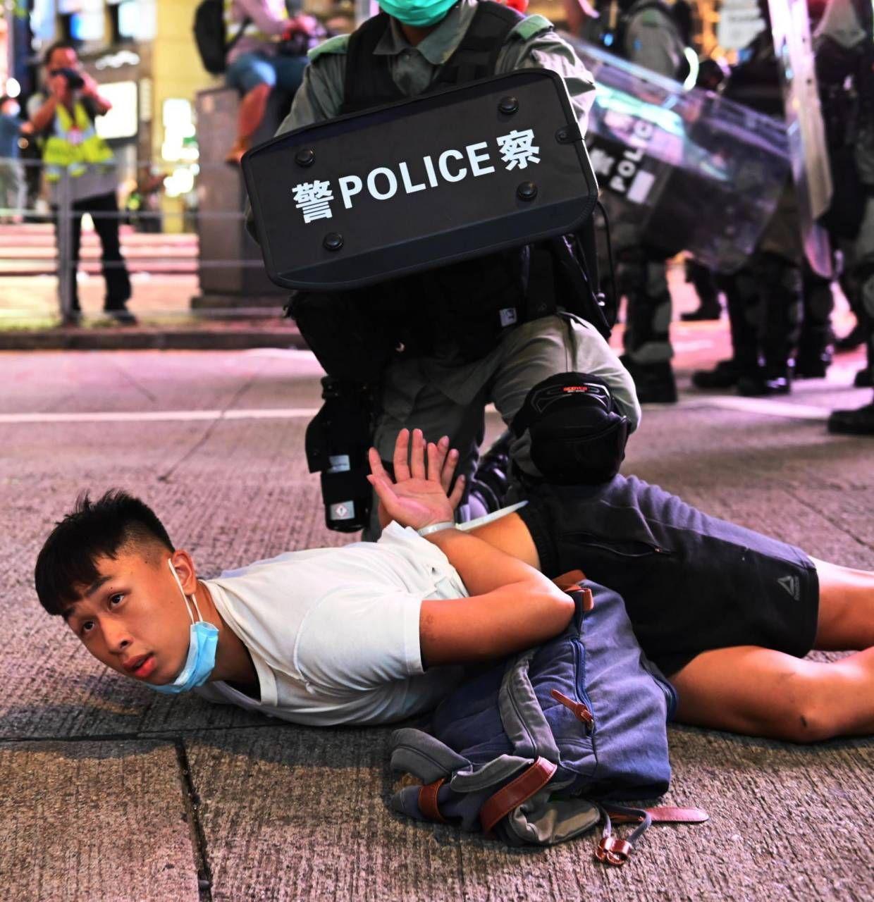 Le recenti e dure. manifestazioni a Hong Kong sono iniziate nel 2019