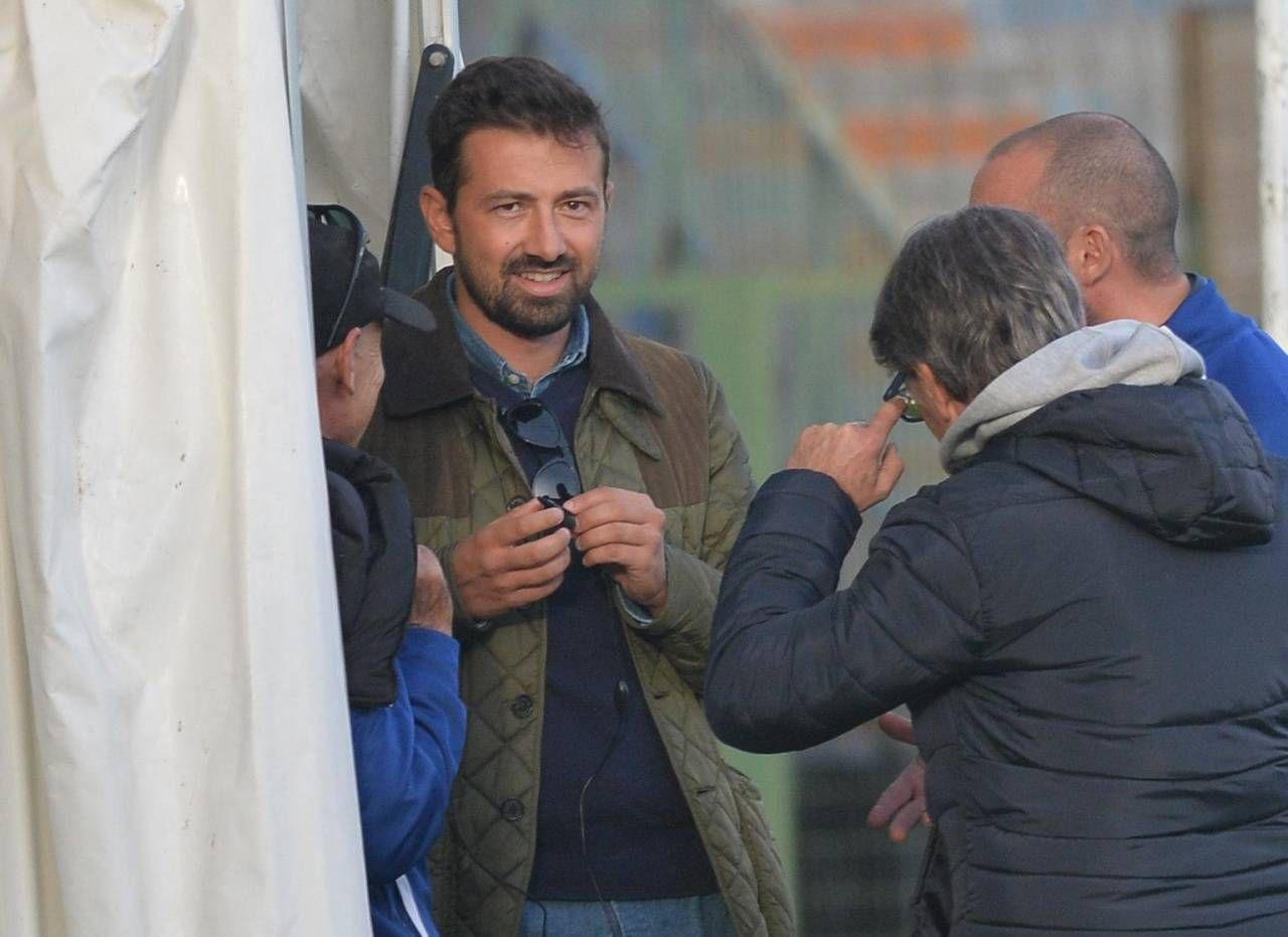 Marco Ferrari, direttore generale della Pistoiese (foto archivio Castellani)