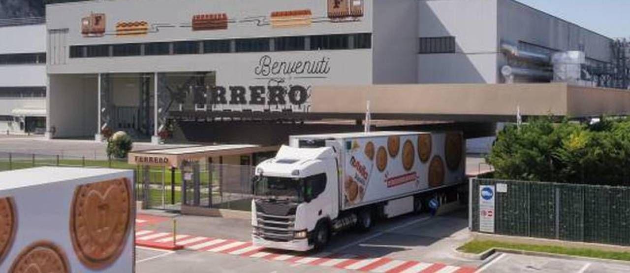 Lo stabilimento Ferrero in Basilicata dove si producono i Nutella Biscuits