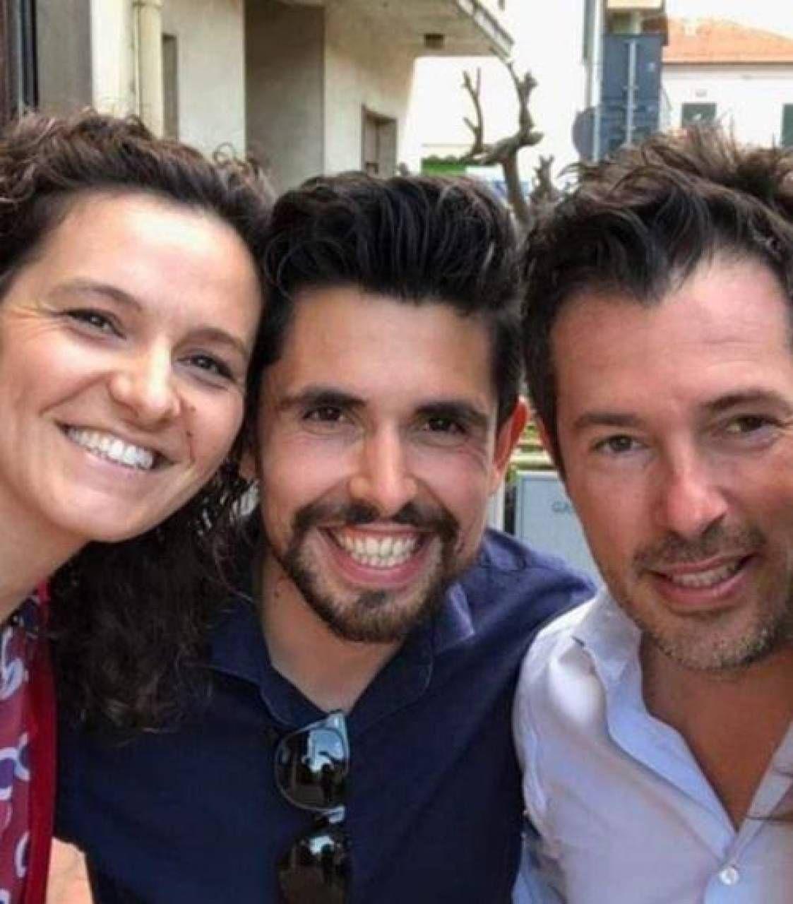 Da sinistra Luisa Tonioni, Massimo Vannuccini e il nuovo consigliere Stefano Pieri