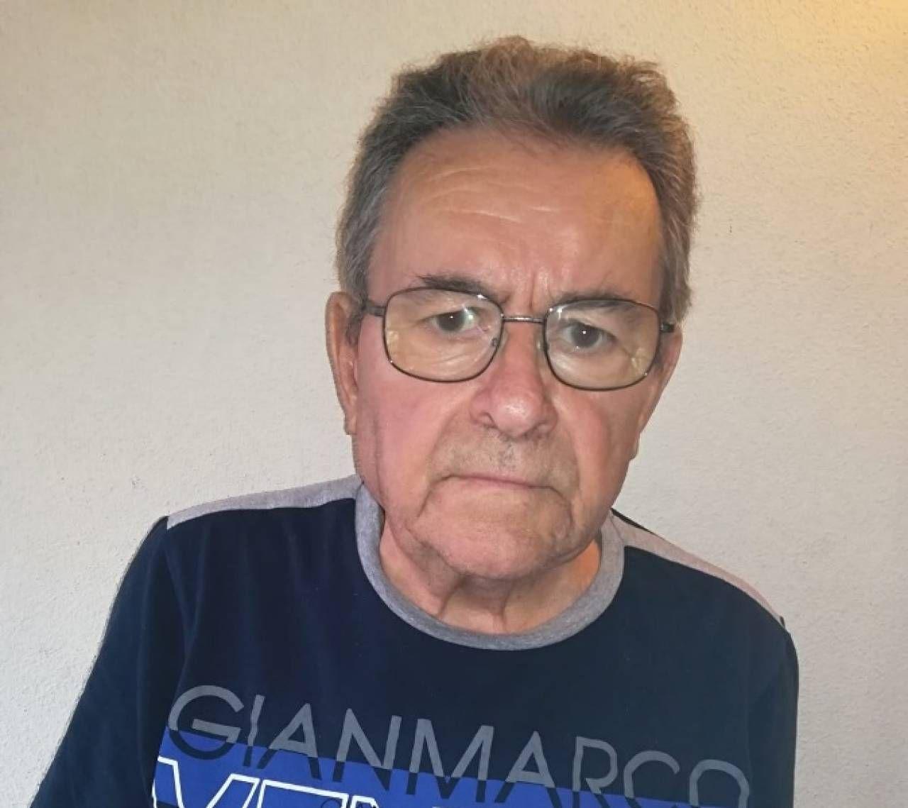 Roberto Virgini, 77 anni, di Recanati
