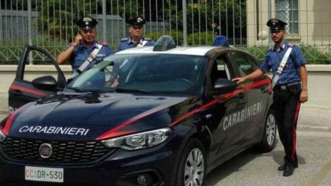 La pattuglia dei carabinieri