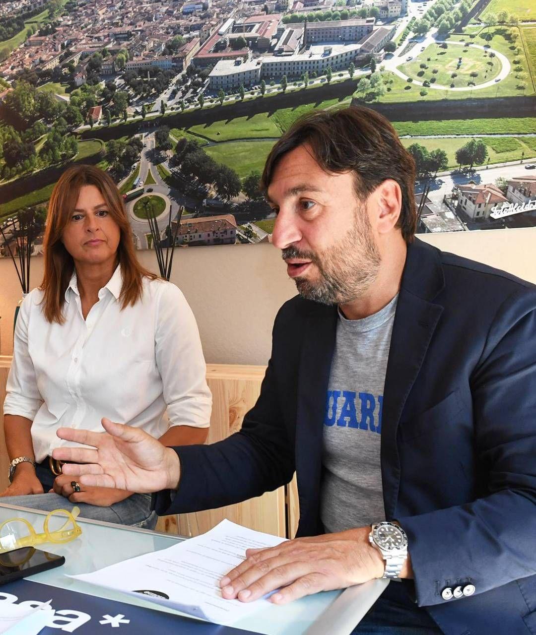 """Natale Mancini e Paola Granucci lanciano a Lucca il servizio di vendita case """"low cost"""""""