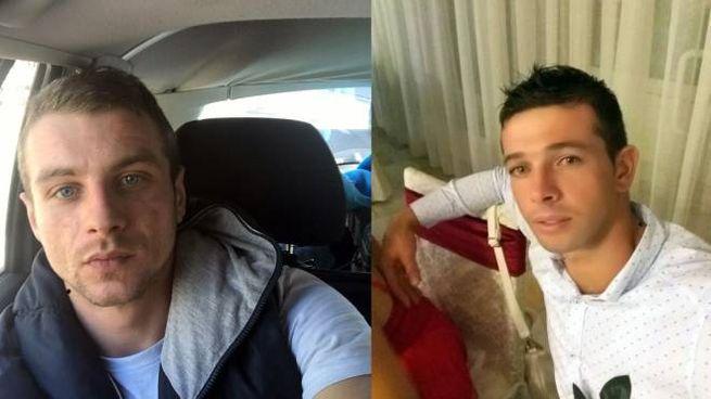 Lucian Baiculescu e Florin Tuvichi, le due vittime dell'incidente