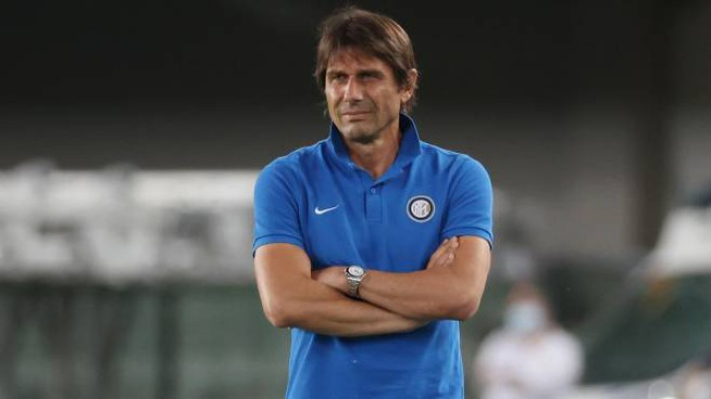 Il tecnico dell'Inter Antonio Conte (Ansa)
