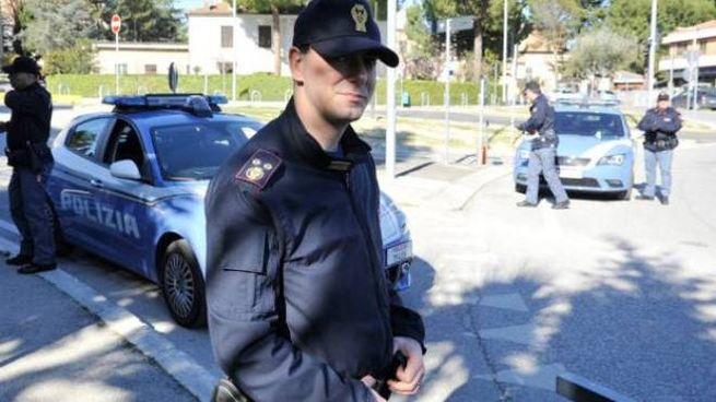 In azione la polizia