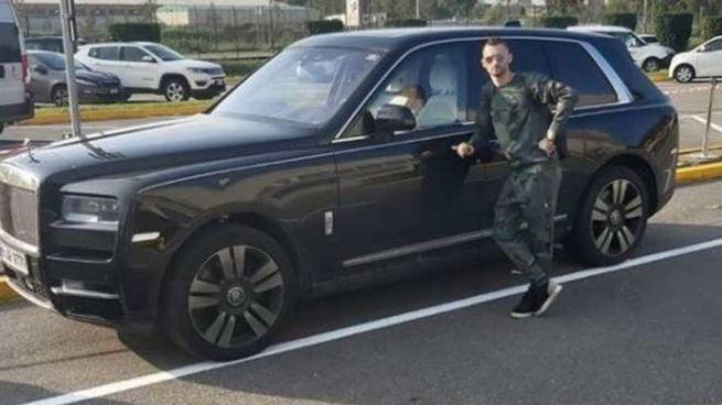 Marcelo Brozovic e la sua auto