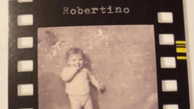Un'immagine di Robertino, morto nel '76