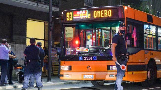 L'autobus della linea 93