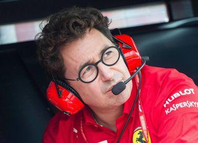 Mattia Binotto, 50 anni, team principal del Cavallino dal gennaio 2019