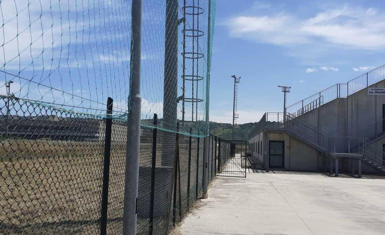 Il campo di Monsampolo che diventerà il centro sportivo rossoblù